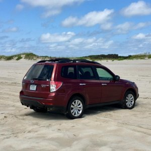 On the beach in OBX, July 2019  | Subaru Forester Owners Forum