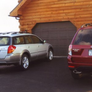 Pix of ScipSubie's new 2009 Forester