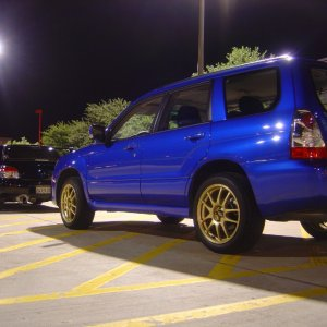 2oo7 Forester Sports XT
