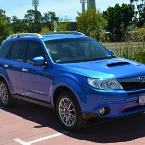 Finally some pics of my new Forester S edition