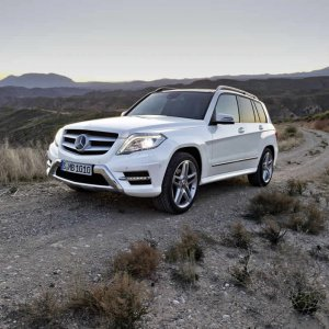 New Mercedes benz GLK 2013