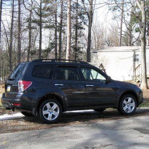 09 Forester