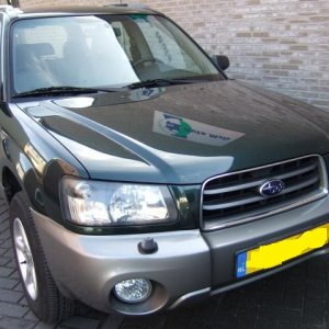 My 2002 forester x