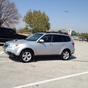 2010 Forester XT and 2013 Forester XT Touring