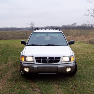 1998 Subaru Forester S in Glacier White