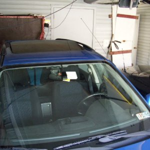 WRX aftermarket moon roof