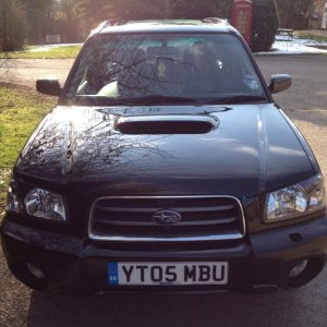 Forester 2.5XT....just in case you didn't know
