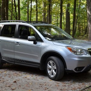 More of our 2014 Limited Forester