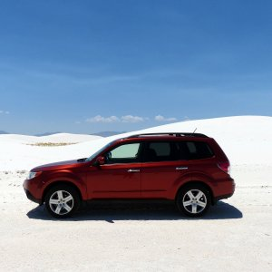2010 Forester at White Sand New Mexico
