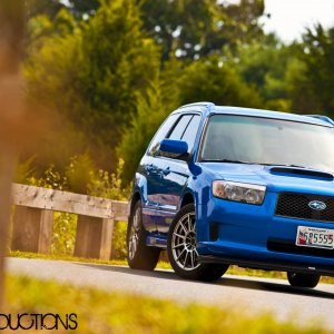 "yuephoria's 2008 Forester ""Cross Sports"" XT"