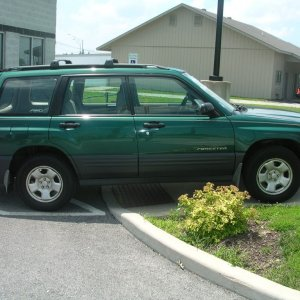2001 forester l arcadia green subaru forester owners forum 2001 forester l arcadia green
