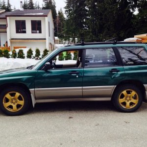 My Forester the day I bought it.