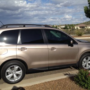 2015 Forester Limiter Burnished Bronze with Tint