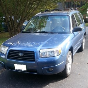 My New 2008 Forester 2.5X