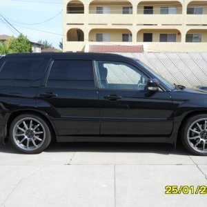 2007 Subaru Forester XT Sports Black