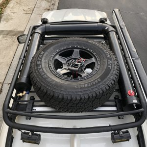 Roof rack Water System