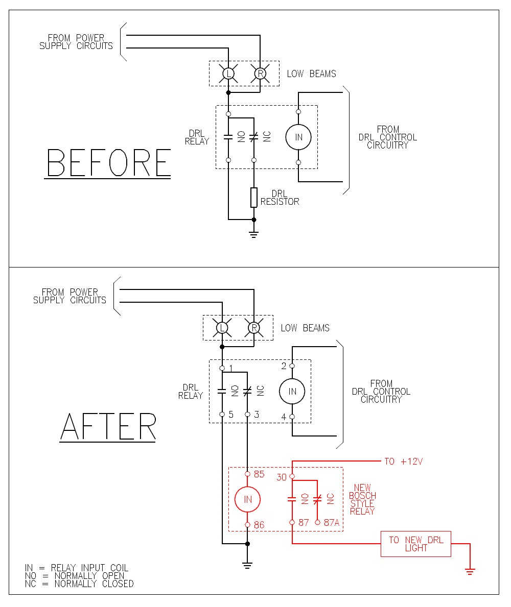 Led Drl Wiring Diagram Gandul 457779119 – Led Drl Lights Wiring Schematic